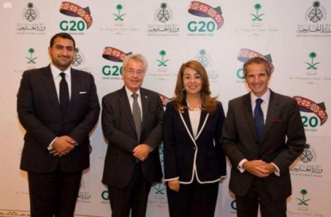 08 09 vienne - Diplomatie : l'ambassade du Royaume d'Arabie en Autriche organise une réception pour présenter les efforts de la présidence saoudienne du G20