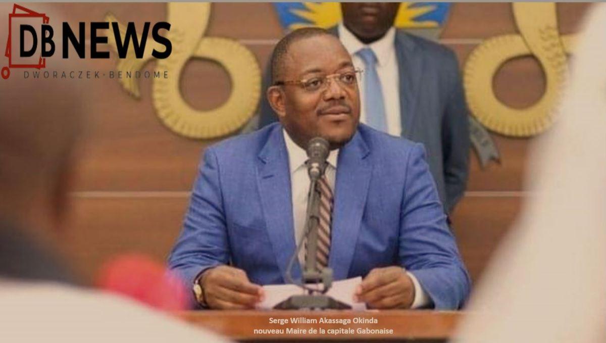 17 09 2020 Akassaga - Gabon | L'occasion fait le larron : l'atypique Serge William Akassaga Okinda,  Maire par intérim  de la capitale Gabonaise.