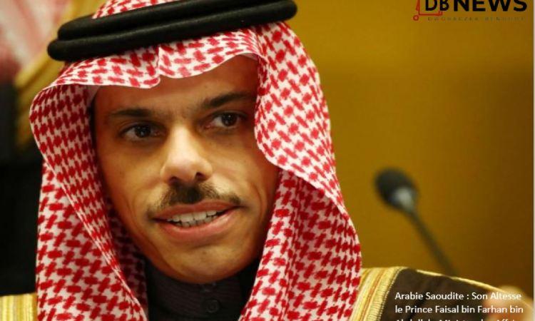 18 09 2020 Son Altesse le Prince Faisal bin Farhan bin Abdullah ministre des Affaires etrangeres - Echange téléphonique entre le ministre des Affaires Etrangères d'Arabie Saoudite  et son homologue de la République du Turkménistan