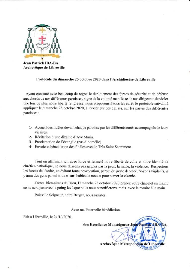 Gabon   Catholique   Réouverture des lieux de culte: retour en image sur la Journée du 25 octobre.
