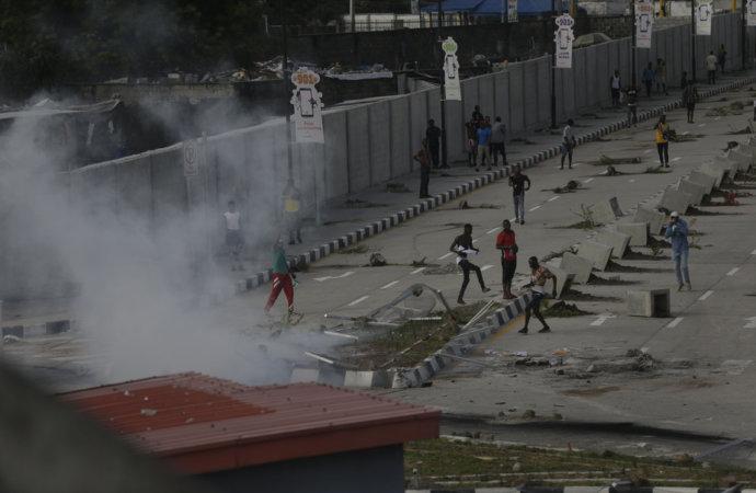 Indignation enAfriquedu Sud après la répression sanglante au Nigeria