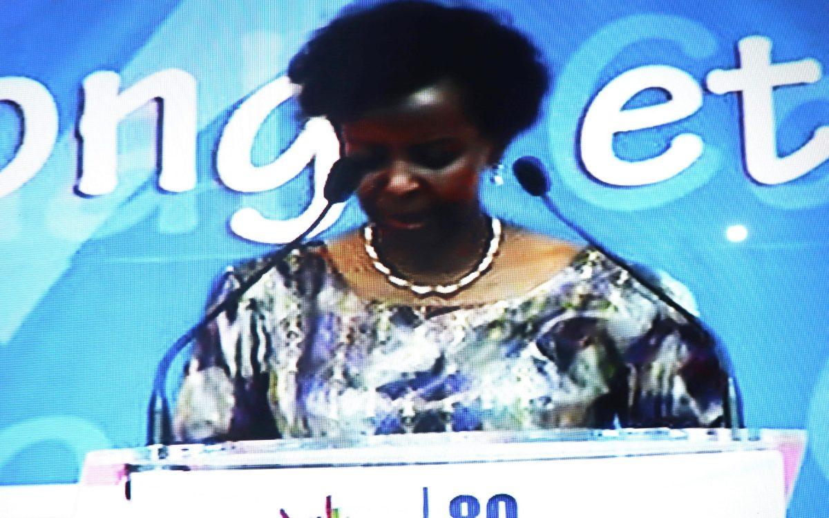 CongoCommemoration La celebration des 80 ans de lappel de - Congo/Commémoration : La célébration des 80 ans de l'appel de Brazzaville, un moment important pour la restitution de l'histoire, selon Louise Mushikiwabo