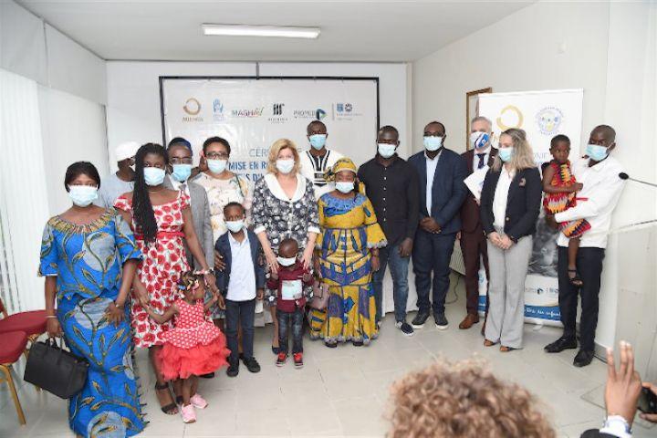Cote dIvoire mise en route de cinq enfants malades - Côte d'Ivoire : mise en route de cinq enfants malades du cœur pour être soignés gratuitement en Israël