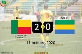 Gabon Benin Copie - Les Panthères du Gabon laminées par le Bénin 2 à 0