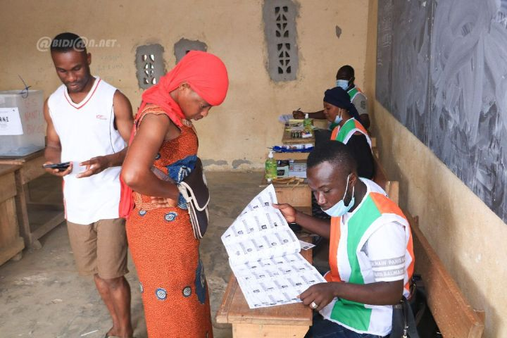 Jour de vote demarrage effectif du scrutin presidentiel en - Jour de vote : démarrage effectif du scrutin présidentiel en Côte d'Ivoire