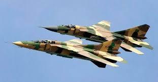 Avions angolais Copie - RDC : Deux avions de chasse angolais survolent le ciel de Kinshasa