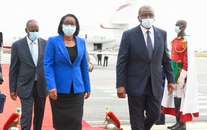 Investiture d'Alassane Ouattara:Le Gabon était présent