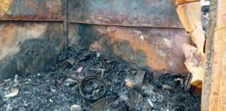 Une cinquantaine de magasins partent en fumee a Adjame dans - Une cinquantaine de magasins partent en fumée à Adjamé, dans le Nord d'Abidjan