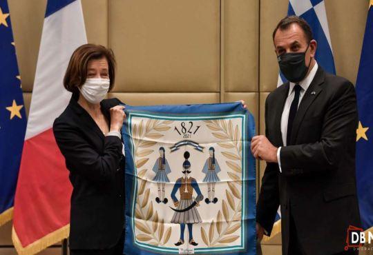 25 janvier 2021 - Exportation d'armes :  France, la Grèce paraphe un contrat d'achat de 18 avions de combat Rafale