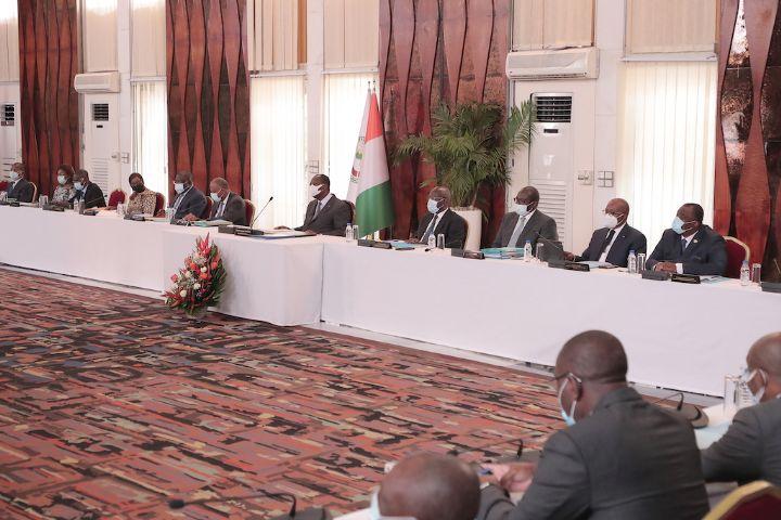 Communique du Conseil des Ministres du Mercredi 20 Janvier 2021 - Communiqué du Conseil des Ministres du Mercredi 20 Janvier 2021