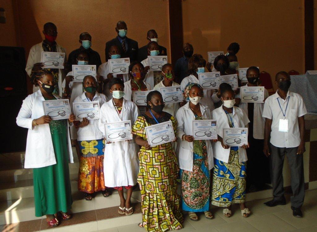 CongoSante Une vingtaine dinfirmiers formes pour servir dans les structures - Congo/Sante: Une vingtaine d'infirmiers formés pour servir dans les structures sanitaires