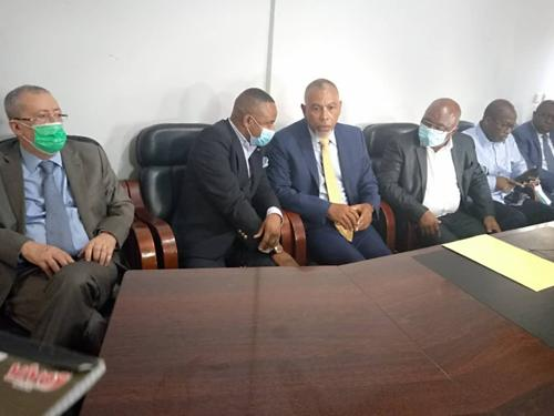 RDC : Ensemble de Moise Katumbi et deux autres regroupements politiques reçus par l'informateur