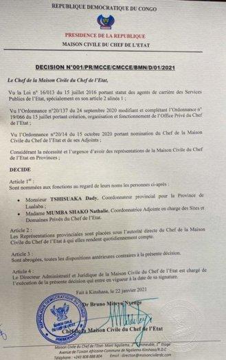 WhatsApp Image 2021 01 26 at 16.44.48 329x524 - RDCongo: le président Tshisekedi lance-t-il un gouvernement parallèle?