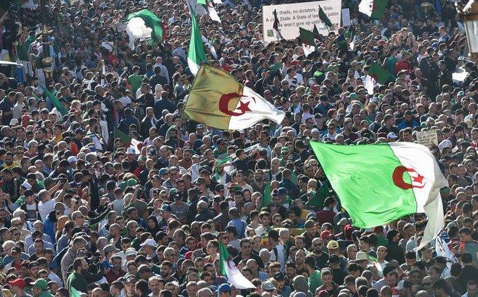 Algérie: après un an d'arrêt, le Hirak renoue en force avec la rue