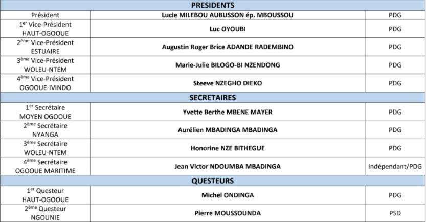 1614780007 121 GabonSenatLucie Milebou Aubusson rempile - Gabon/Sénat:Lucie Milebou-Aubusson rempile