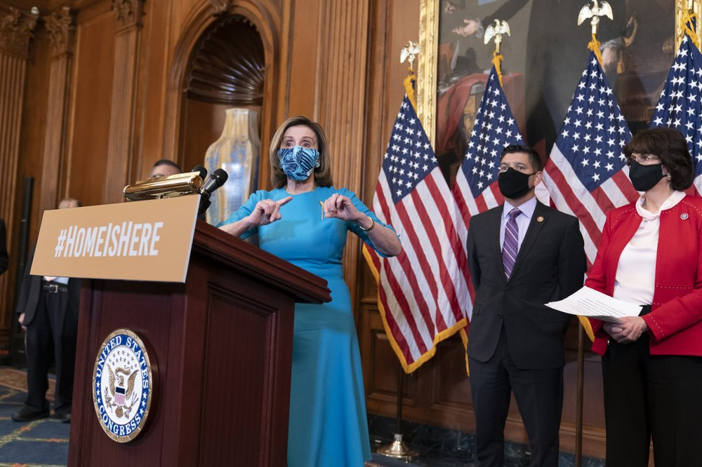 19 MARS 2021 - USA   Immigration : vote favorable de la Chambre des représentants pour ouvrir l'accès à la citoyenneté