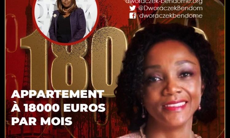 25 mars 201 Liliane Massala un appartement a 18000 euros par mois pour S.E. Mme Ambassadrice - Liliane Massala : un appartement à 18000 euros par mois, pour S.E. Mme l'Ambassadrice