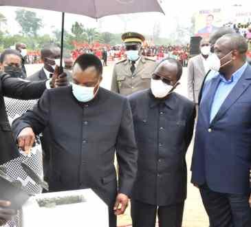 CongoEnergie Les populations de la Likouala reserve un accueil chaleureux - Congo/Energie: Les populations de la Likouala réserve un accueil chaleureux au Président Denis Sassou-N'Guesso