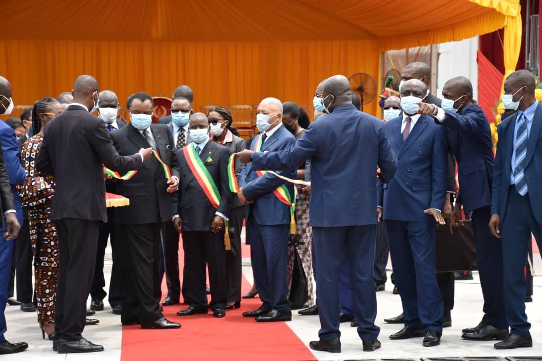 Congo/Infrastructures: Inauguration du nouveau siège du Parlement