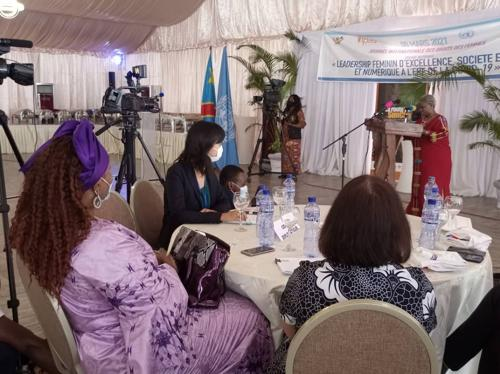 Parité au sein du gouvernement Sama : Béatrice Lomeya appelle Denise Nyakeru à s'impliquer