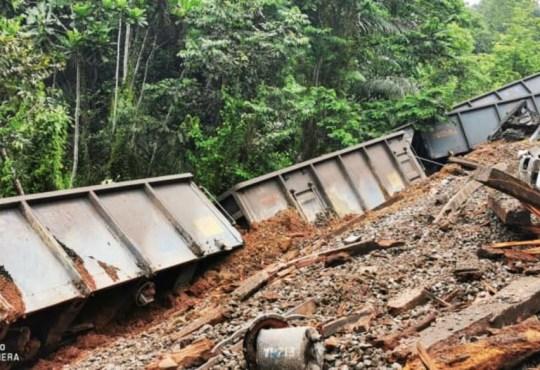 Screenshot 20210307 144036 WhatsAppBusiness - Le déraillement d'un train minéralier à l'origine de la suspension du trafic