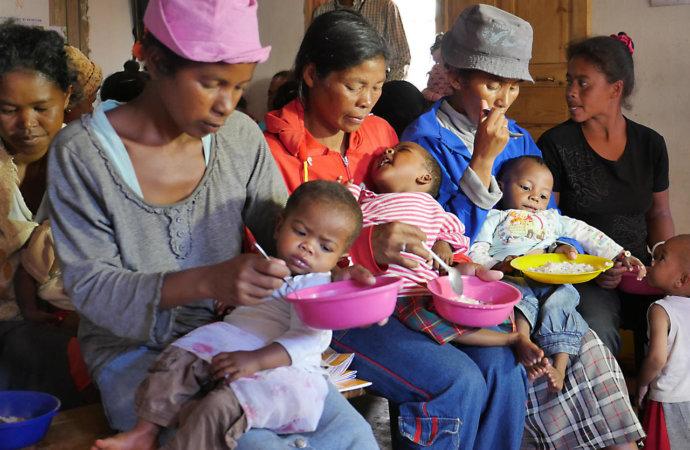 Sud de Madagascar: déjà 4.000 enfants traités pour malnutrition en 2021