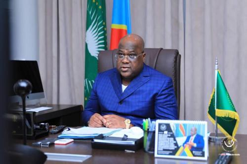 UA : Félix Tshisekedi  préside, avec la participation de Macron, une réunion sur la gestion  de la  Covid-19 en Afrique