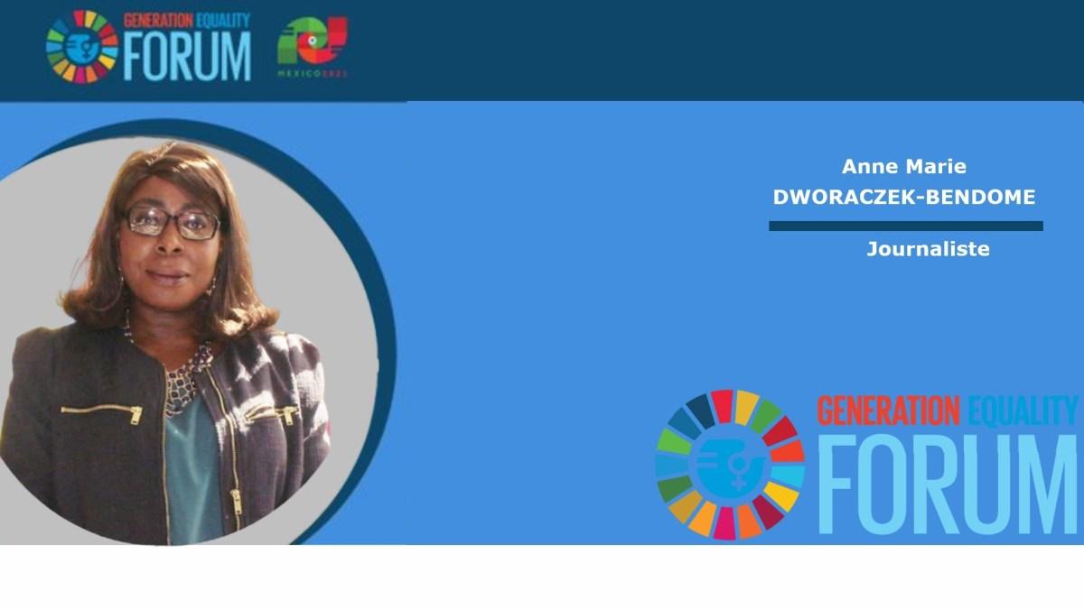 000 mexico Anne marie dworaczek bendome - Forum Génération Égalité (2021), Mexico 29 – 31 mars