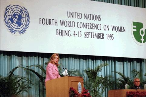 0000Forum de Pekin Mme Hillary Diane Rodham 1re Dame USA  - Forum Génération Égalité (2021), Mexico 29 – 31 mars