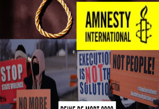 21 avril final rapport 2020 Peine de rapport - Peine capitale: Amnesty International, bilan 2020