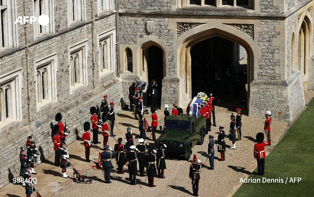 2Funrailles2Bis - Les funérailles du prince Philip, époux de la reine Elizabeth II d'Angleterre en quelques images