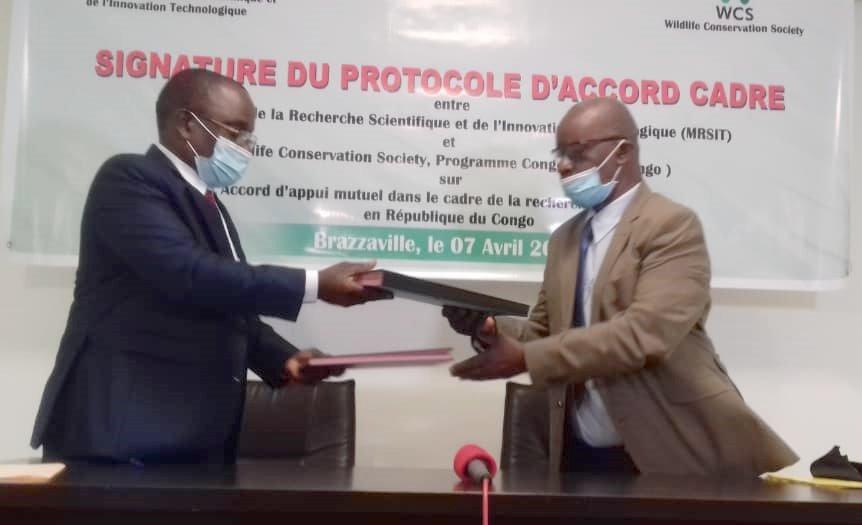 CongoRecherche scientifique Signature dun accord dappui mutuel pour le - Congo/Recherche scientifique : Signature d'un accord d'appui mutuel pour le renforcement des compétences dans la biodiversité