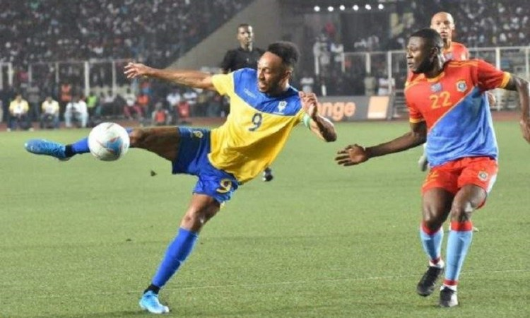 Eliminatoires CAN 2022Tacle irregulier de la RDC contre le Gabon - Eliminatoires CAN 2022:Tacle irrégulier de la RDC contre le Gabon