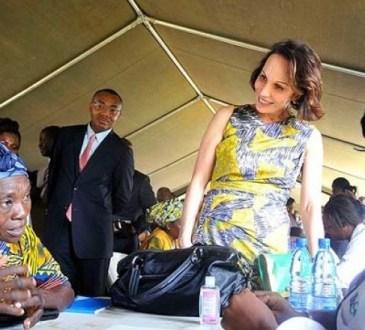 Emancipation de la femme gabonaiseSylvia Bongo Ondimba toujours au front - Emancipation de la femme gabonaise:Sylvia Bongo Ondimba toujours au front