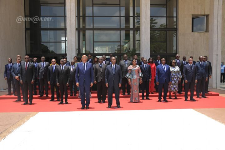 Nouveau gouvernement le President Alassane Ouattara exhorte les ministres - Nouveau gouvernement : le Président Alassane Ouattara exhorte les ministres à consolider le triptyque paix-sécurité-cohésion
