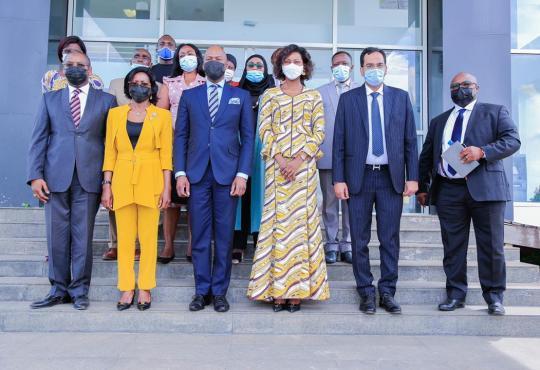 IMG 20210512 WA0133 - Nkok : Le secrétaire général de la Zlecaf rassure les opérateurs économiques
