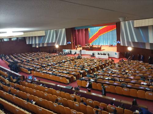 Kinshasa : loi portant sur la taxe de promotion de l'industrie en examen à l'Assemblée nationale