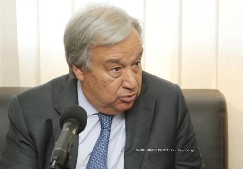 RDC : le secrétaire général de l'ONU condamne l'attaque perpétrée contre une position de la MONUSCO à Béni