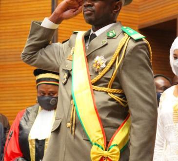 Mali | Assimi Goïta, Président de la transition