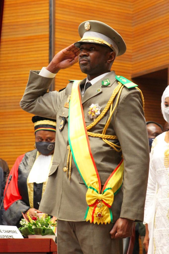 Mali   Assimi Goïta, Président de la transition
