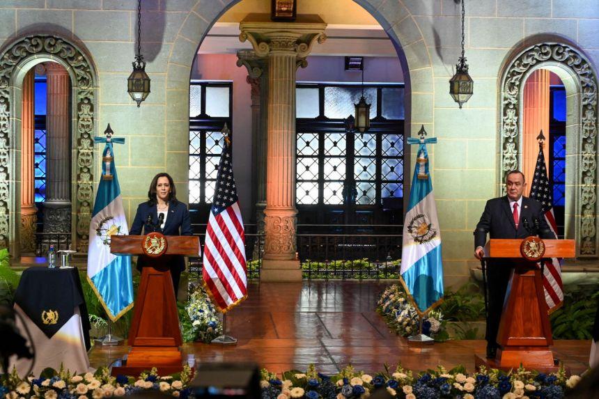 Diplomatie : Kamala Harris, vice-présidente des Etats-Unis au Guatemala