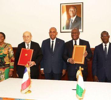 Gestion de l8217Academie Internationale de lutte contre le terrorisme de - Gestion de l'Académie Internationale de lutte contre le terrorisme de Jacqueville : la Côte d'Ivoire et la France signent une convention