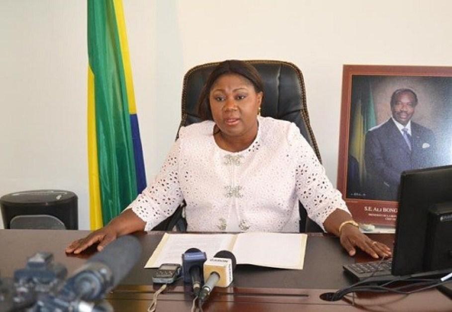 Gabon - Marie-Françoise Dikoumba, Gouverneure de la province de l'Estuaire