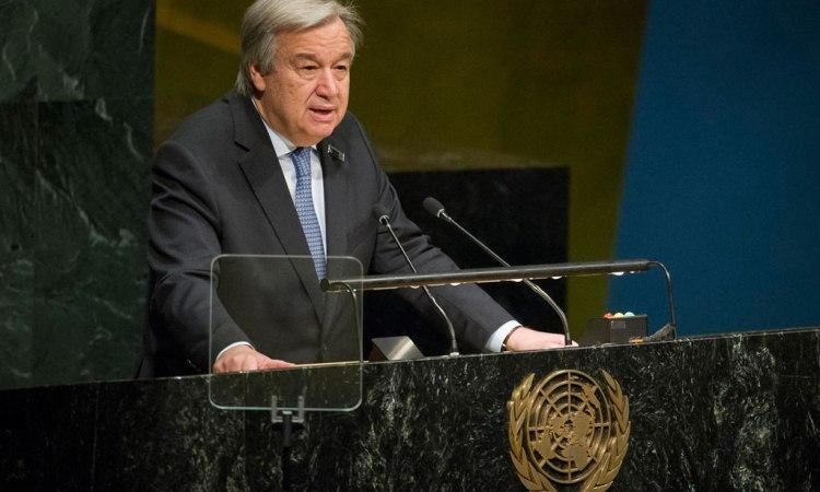 António Guterres, Secrétaire général des Nations unies