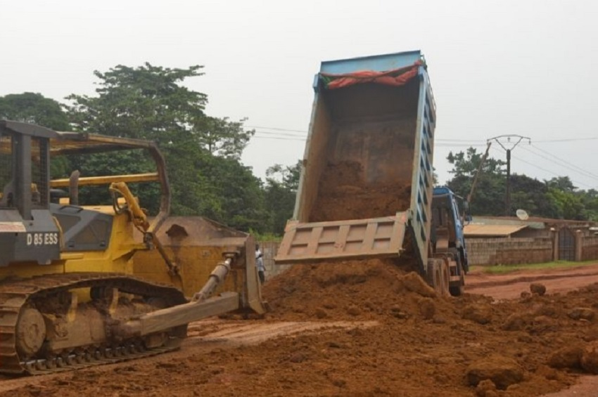 Réhabilitation : L'axe Tchad-Matoto en chantier