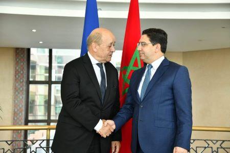 Crise entre l'Algérie et le Maroc : Jean-Yves Le Drian convoque Nasser Bourita