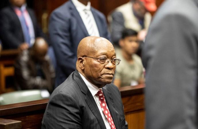 Afriquedu Sud: appel aux dons pour payer les frais de justice de Jacob Zuma