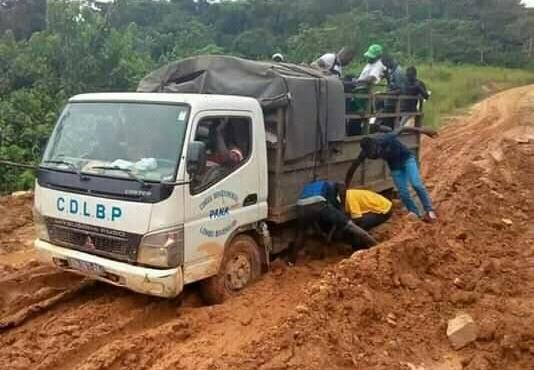 Ogooué-Lolo : seulement 10 % du réseau routier bitumé…