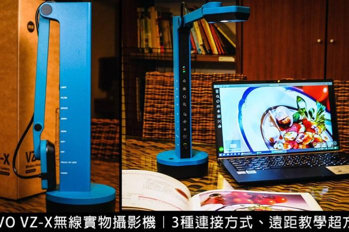 IPEVO VZ-X 無線實物攝影機開箱|遠距教學、線上會議、直播教學好幫手