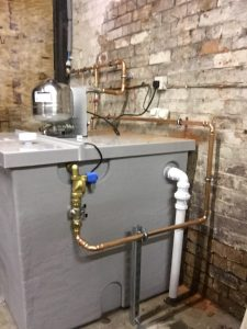 Scubatank Installation in Stroud with DWP Services